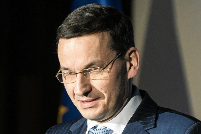 """Mateusz Morawiecki zarzucił opozycji """"szantaż"""" w sprawie protestu w Sejmie."""