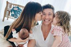 Robert Lewandowski pokazał rodzinne zdjęcie. Nie zabrakło na nim jego najmłodszej córki Laury.