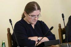 Krystyna Pawłowicz wytłumaczyła swoją decyzję.