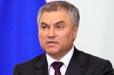 """Szef rosyjskiego parlamentu stwierdził, że polskie władze """"umniejszają rolę ZSRR"""" w drugiej wojnie światowej."""