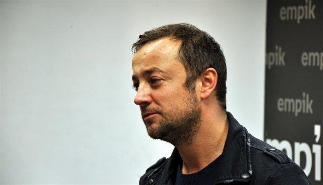 Czesław Mozil na spotkaniu w Poznaniu