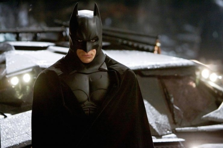 Bale jako Batman w filmie Christophera Nolana.