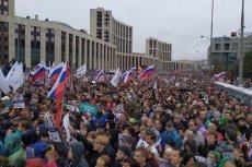 Kolejna demonstracja w Moskwie. Mówi się, że na ulice wyszło 50 tys. osób.