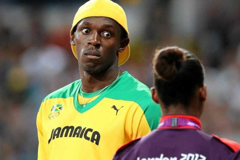"""Koszulka z napisem """"Jamaica"""" - ona najczęściej oznacza świetnego sprintera"""