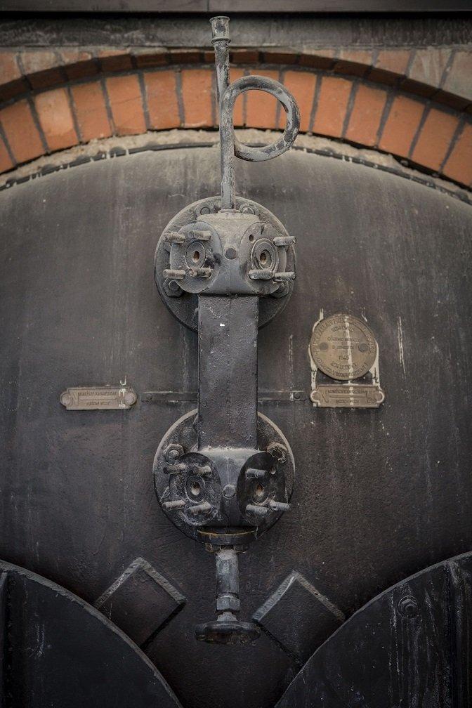 Oryginalny piec do produkcji wódki