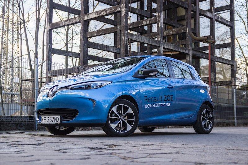Elektryczne Renault Zoe nie powinno rozczarować kierowców, którzy na drodze chcą być eko.