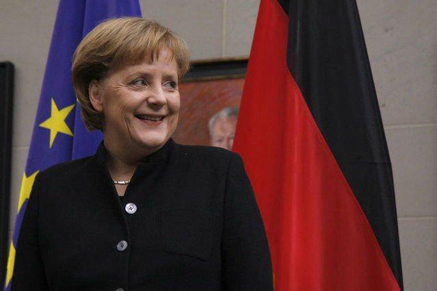 Kanclerz Niemiec Angela Merkel swój urząd sprawuje od 2005 roku.