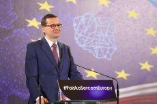 Mateusz Morawiecki przedstawił plan naprawy Unii Europejskiej.