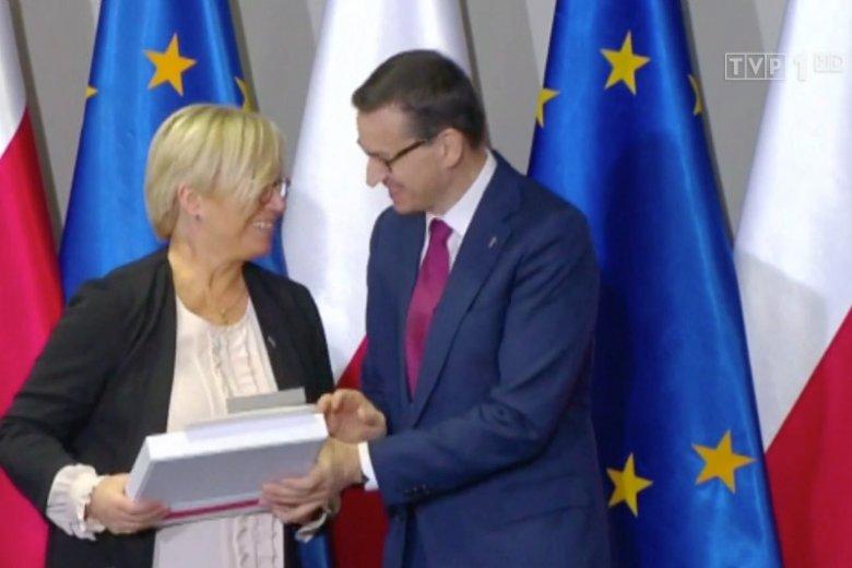 Czy Julia Przyłębska jest profesorem? Wiadomości TVP podały, że tak, ale...