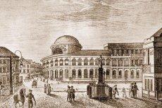 Bank Polski w Warszawie, plac Bankowy, XIX wiek.
