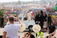 Papież Franciszek na ŚDM.