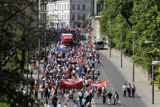 Pierwszomajowe marsze utrudnią ruch w stolicy.