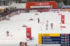Wpadka norweskiej biegaczki. Myślała, że wbiega na metę... 2,5 km za wcześnie. Jej mina bezcenna