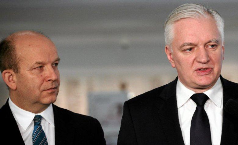 Ministrowie Radziwiłł i Gowin zakopali topór wojenny. Wcześniej szef resortu nauki nie szczędził słów krytyki w sprawie polityki zdrowotnej.