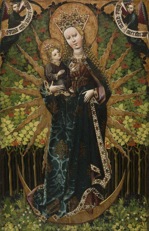 Matka Boska z Paczółtwoic, 1460-1470, Paczółtowice