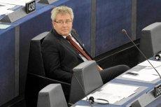 Europosłowie PO raczej zagłosują za pozbawieniem Ryszarda Czarneckiego z PiS stanowiska wiceszefa PE