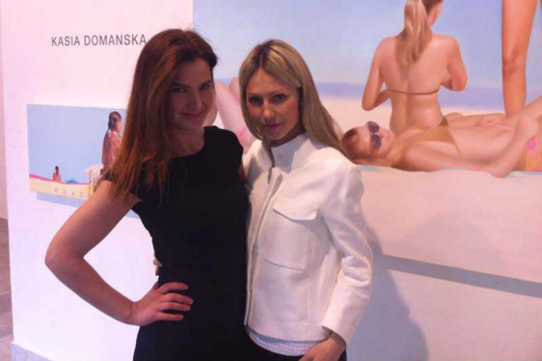 Kampanię wyborczą Magdaleny Ogórek prowadziła firma należąca do brata jej przyjaciółki, malarki Katarzyny Domańskiej.