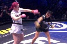 Marta Linkiewicz walczyła z Moniką Godlewską w pierwszej walce kobiet w historii Fame MMA