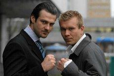 Martin Lewandowski (z lewej) i Maciej Kawulski (z prawej) - twórcy polskiego MMA.
