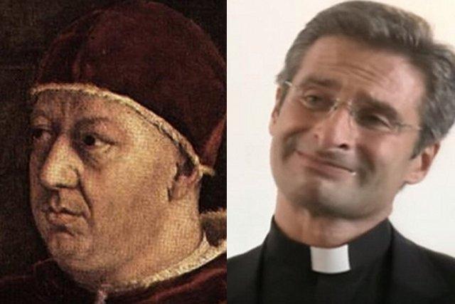 Papież Leon X był oskarżany o sodomię zarówno w paszkwilach, jak i przez historyka własnego rodu.