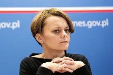 Jadwiga Emilewicz użyła kuriozalnego argumentu w obronie pisowskiej reformy sądownictwa.
