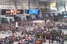 Dworzec Wschodni w Hangzhou przypomina międzynarodowe lotnisko