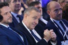 Grzegorz Schetyna nie może być zadowolony po najnowszym sondażu IPSOS dla oko.press.