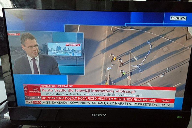 TVP promuje start prywatnej telewizji braci Karnowskich, otwarcie sympatyzujących z PiS.