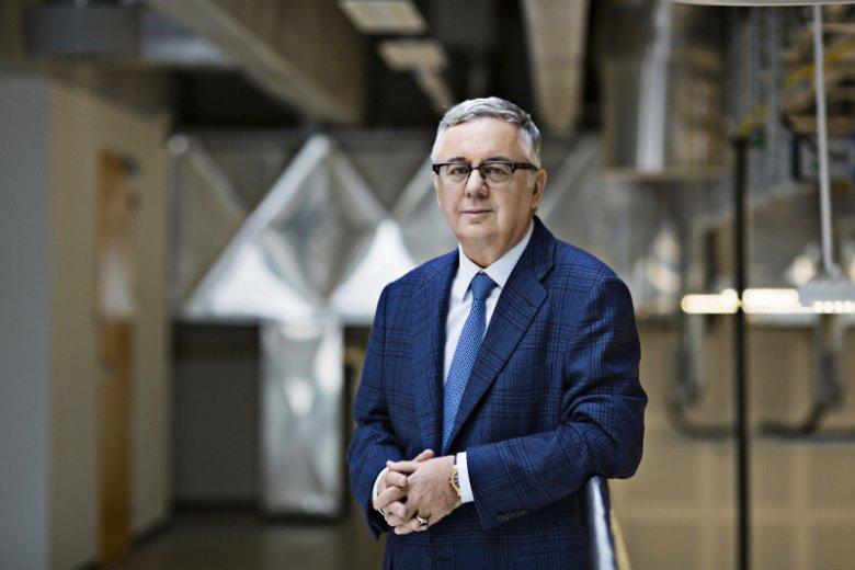 Prof. Janusz Filipiak, prezes firmy Comarch.