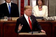 Donald Trump wygłosił doroczne orędzie o stanie państwa.