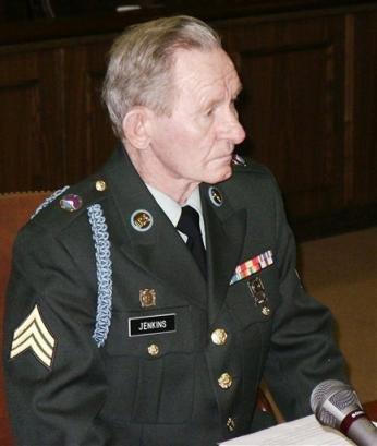 Charles Jenkins podczas rozprawy amerykańskiego sądu wojskowego w Japonii. Mężczyzna został skazany za dezercję do Korei Północnej na 30 dni więzienia i wydalenie z wojska.