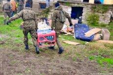 W remont domu rodziny spod Łomży zaangażowało się kilkadziesiąt osób i firm.