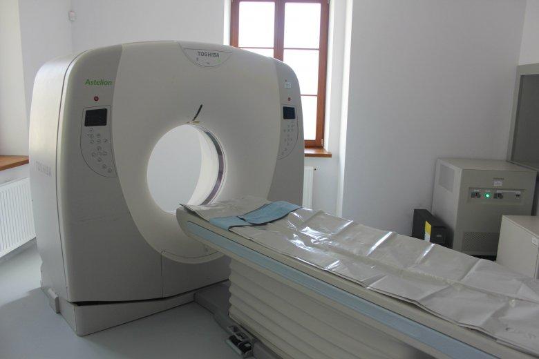 Tomograf komputerowy w stołecznym Zakładzie i Katedrze Medycyny Sądowej