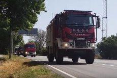 Konwój polskich wozów strażackich w Szwecji cieszył się ogromnym zainteresowaniem.