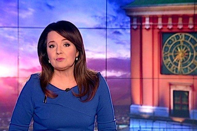 """Danuta Holecka w maju została szefową """"Wiadomości"""" TVP."""