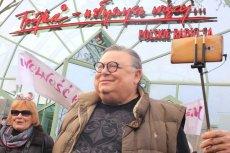 """Przed odtworzeniem piosenki """"Neanderthal Man"""" Wojciech Mann nawiązał do sytuacji z Gdańska."""