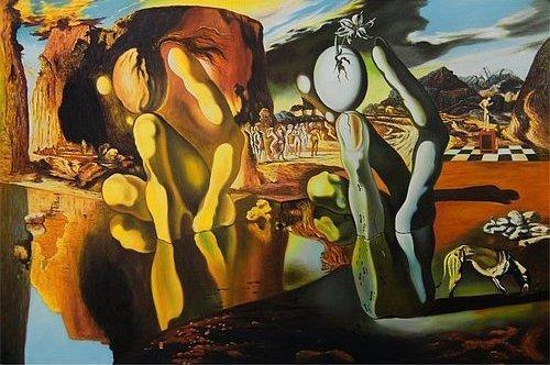 Salvador Dalí, Metamorfoza Narcyza