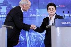 """Szydło chciała dymisji Macierewicza? Tak twierdzi """"Fakt""""."""