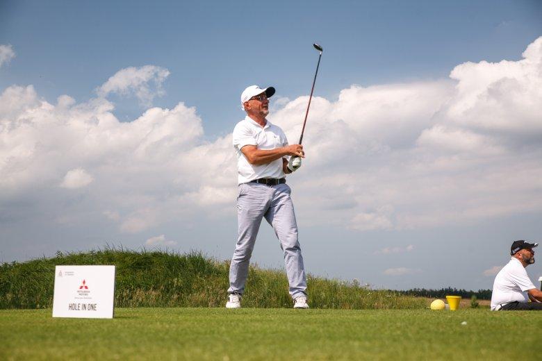 Turniej Mitsubishi Motors Golf Champioship na polu Sobienie Królewskie Golf & CC