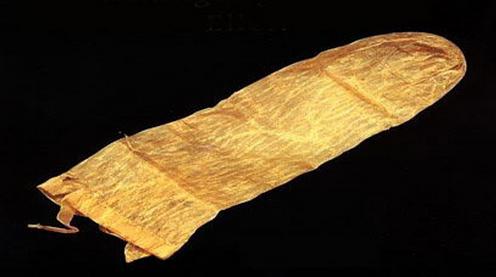 Prezerwatywy wykonywano też z papirusu.