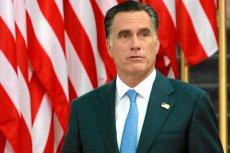 Mitt Romney podczas wizyty w Polsce