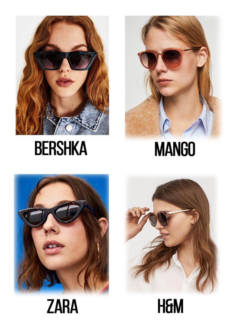 Najmodniejsze okulary kupisz w sieciówkach