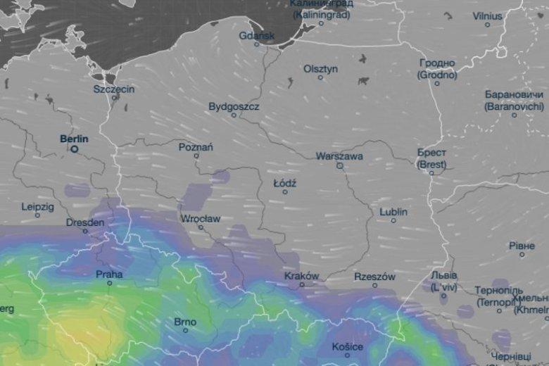 Burze ponownie mogą pojawić się nad Tatrami.