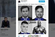 Adam Hofman i Bartłomiej Misiewicz na jednym memie. Pierwszemu żart bardzo się spodobał