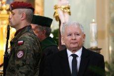 Prezes PiS na pogrzebie prof. Marii Dzielskiej w Krakowie.