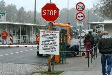 Tak jeszcze kilka lat temu wyglądało przejście graniczne w Świnoujściu.