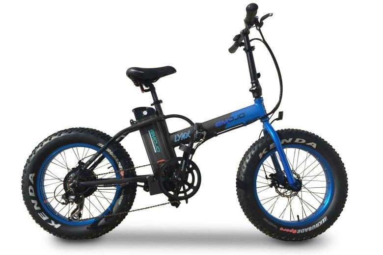 EMOJO LYNX FAT TIRE, czyli egzotyka totalna: składany fat bike ze wspomaganiem elektrycznym, wyceniona na 5500 zł