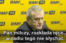 Nietęga mina Glińskiego, który nie wie czemu PiS pamięta tylko o trzech pracownikach KPRM.