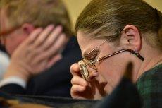 Krystyna Pawłowicz wykryła skoordynowaną akcję niszczenia biur PiS-u.