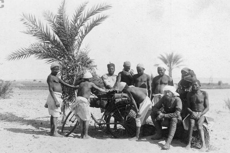 Kazimierz Nowak jako jeden z pierwszych ludzi na świecie przemierzył Afrykę na rowerze